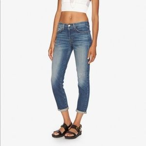 J Brand for Theory Keeper High Rise Crop Jeans